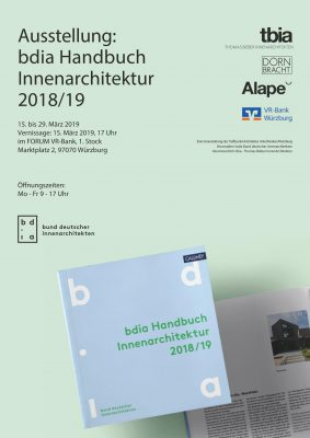 best of 2018/19 - Die Wanderausstellung des Bund Deutscher InnenArchitekten @ FORUM, 1. Stock,